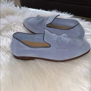 Harry's of London Adrian suede loafers Light Blue